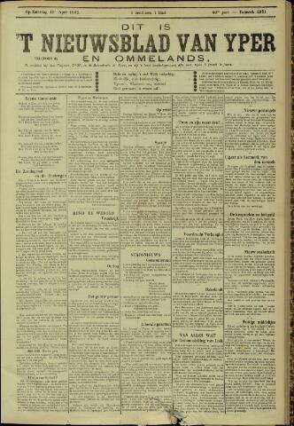 Nieuwsblad van Yperen en van het Arrondissement (1872 - 1912) 1905-04-15
