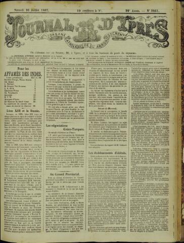 Journal d'Ypres (1874 - 1913) 1897-07-10