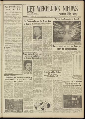 Het Wekelijks Nieuws (1946-1990) 1954-02-20