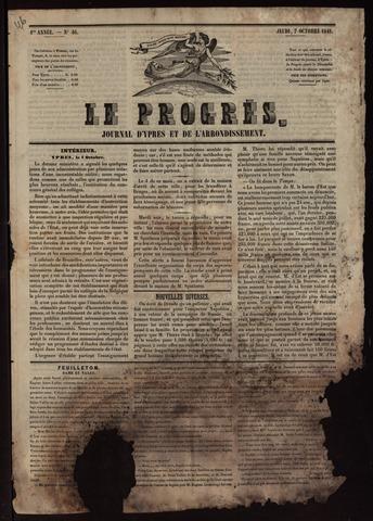 Le Progrès (1841-1914) 1841-10-07