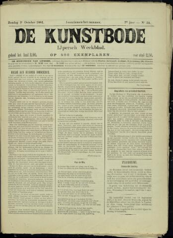 De Kunstbode (1880 - 1883) 1881-10-02