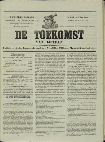 De Toekomst (1862 - 1894) 1872-08-25
