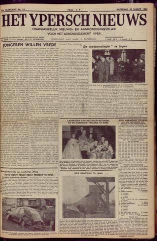 Het Ypersch nieuws (1929-1971) 1963-03-30