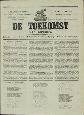 De Toekomst (1862 - 1894) 1872-01-21