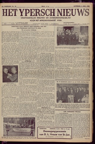 Het Ypersch nieuws (1929-1971) 1965-07-03