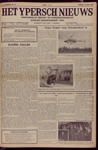Het Ypersch nieuws (1929-1971) 1968-05-24