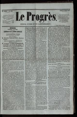 Le Progrès (1841-1914) 1847-05-27