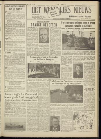 Het Wekelijks Nieuws (1946-1990) 1954-09-25