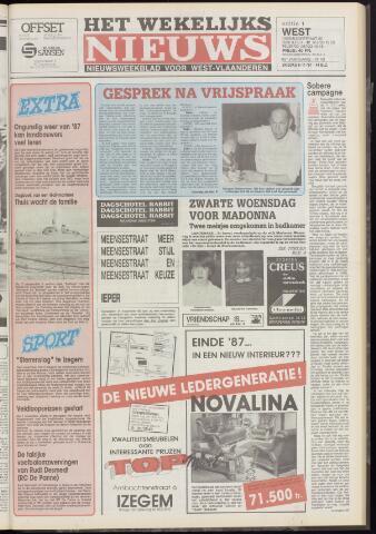 Het Wekelijks Nieuws (1946-1990) 1987-11-06