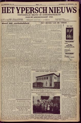 Het Ypersch nieuws (1929-1971) 1962-09-29