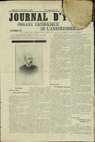 Journal d'Ypres (1874 - 1913) 1906-11-03