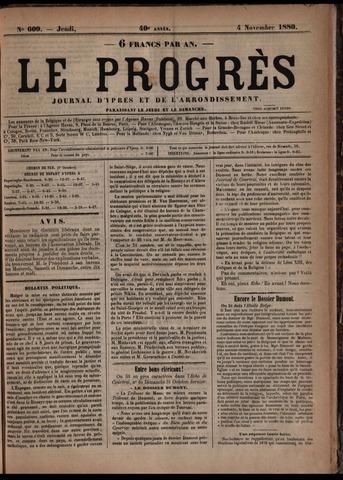 Le Progrès (1841-1914) 1880-11-04