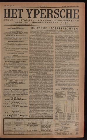 Het Ypersch nieuws (1929-1971) 1943-11-19