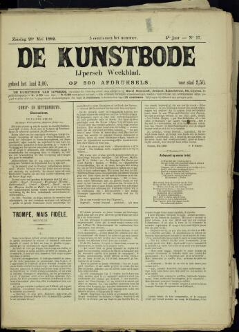 De Kunstbode (1880 - 1883) 1882-05-28