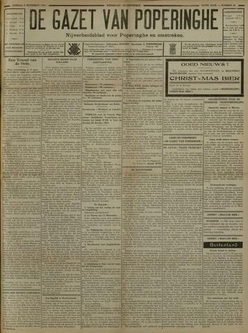 De Gazet van Poperinghe  (1921-1940) 1931-11-08