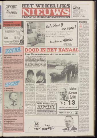 Het Wekelijks Nieuws (1946-1990) 1987-11-27