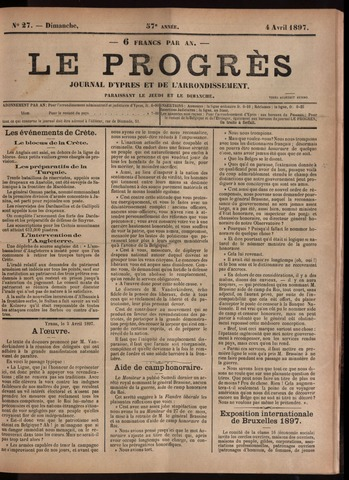 Le Progrès (1841-1914) 1897-04-04
