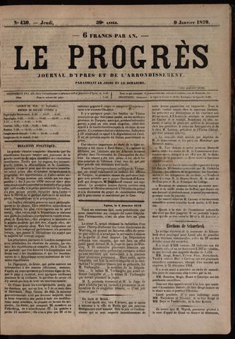 Le Progrès (1841-1914) 1879-01-09