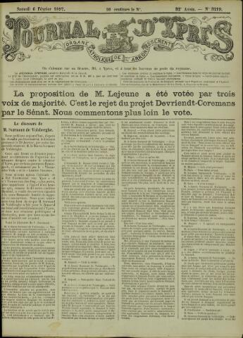 Journal d'Ypres (1874 - 1913) 1897-02-06