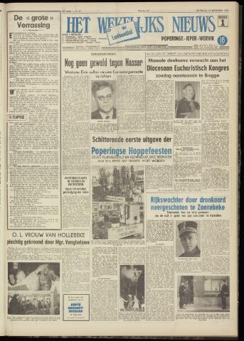 Het Wekelijks Nieuws (1946-1990) 1956-09-15
