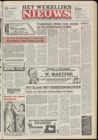 Het Wekelijks Nieuws (1946-1990) 1985-09-06