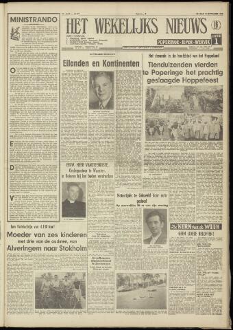 Het Wekelijks Nieuws (1946-1990) 1958-09-12