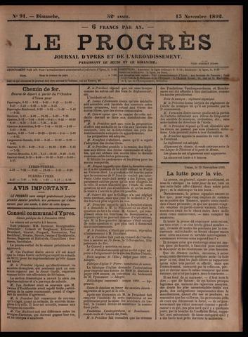Le Progrès (1841-1914) 1892-11-13