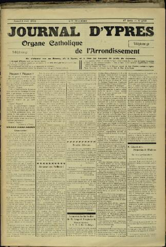 Journal d'Ypres (1874 - 1913) 1912-04-06