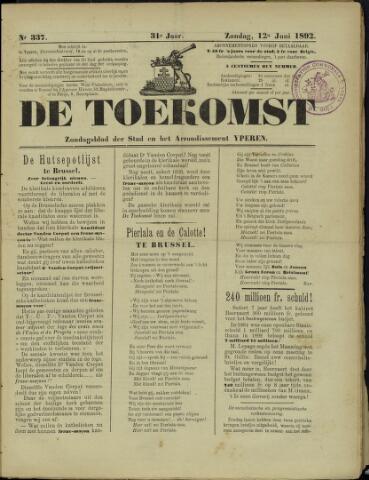 De Toekomst (1862 - 1894) 1892-06-12