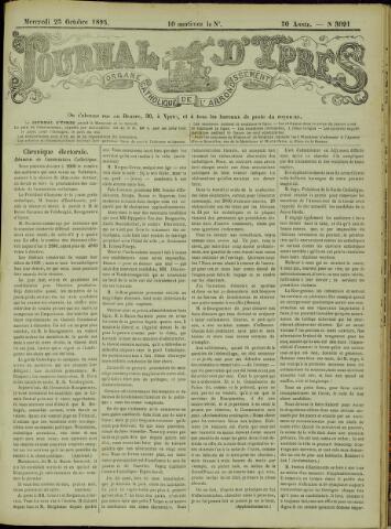 Journal d'Ypres (1874 - 1913) 1895-10-23