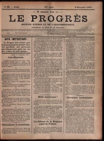 Le Progrès (1841-1914) 1897-12-09
