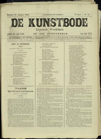 De Kunstbode (1880 - 1883) 1882-01-22