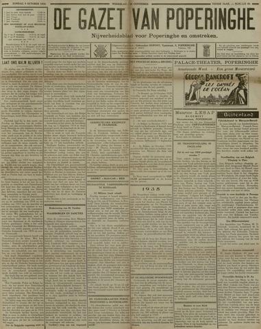 De Gazet van Poperinghe  (1921-1940) 1930-10-05