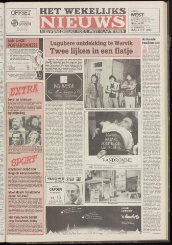 Het Wekelijks Nieuws (1946-1990) 1987-12-04