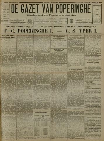 De Gazet van Poperinghe  (1921-1940) 1931-11-29
