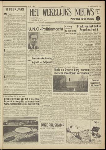 Het Wekelijks Nieuws (1946-1990) 1957-02-09