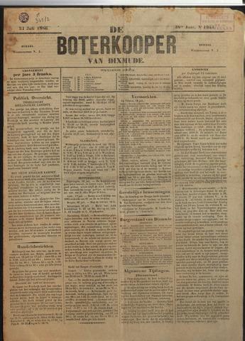 De Boterkoper 1886-07-21