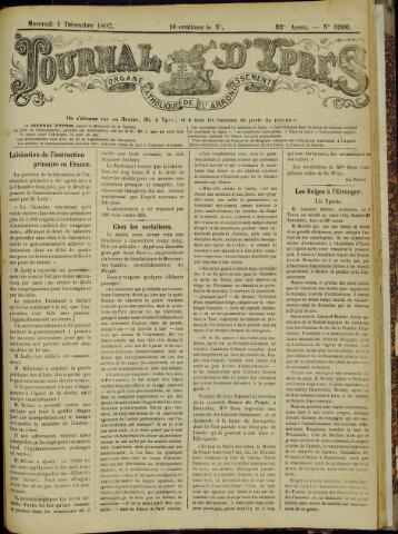 Journal d'Ypres (1874 - 1913) 1897-12-01