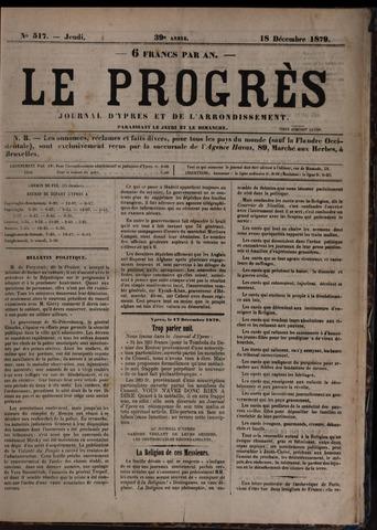 Le Progrès (1841-1914) 1879-12-18