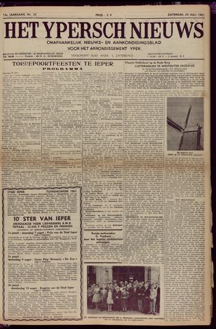 Het Ypersch nieuws (1929-1971) 1961-07-29