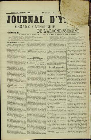 Journal d'Ypres (1874 - 1913) 1906-12-15