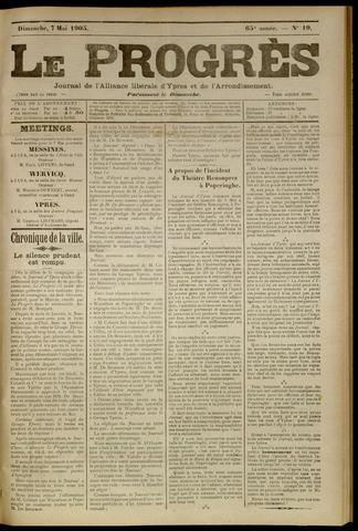 Le Progrès (1841-1914) 1905-05-07