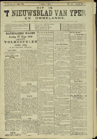 Nieuwsblad van Yperen en van het Arrondissement (1872 - 1912) 1899-08-12