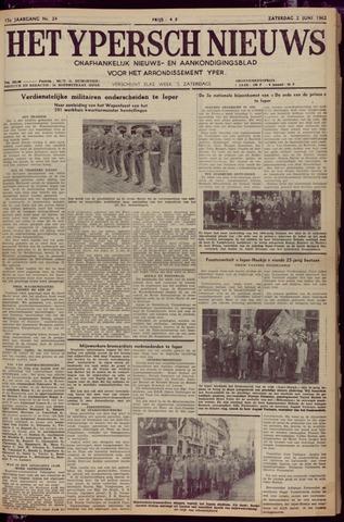 Het Ypersch nieuws (1929-1971) 1962-06-02