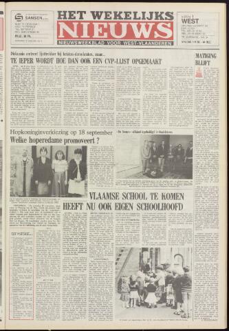 Het Wekelijks Nieuws (1946-1990) 1982-09-03