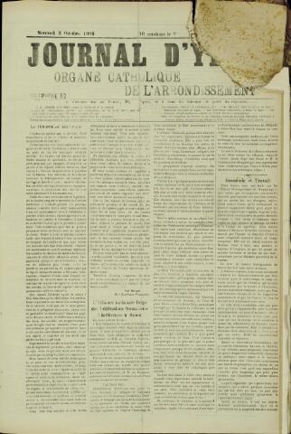 Journal d'Ypres (1874 - 1913) 1906-10-03