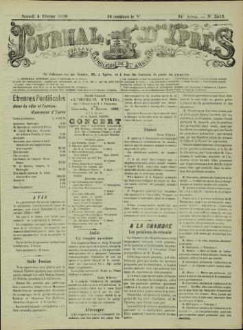 Journal d'Ypres (1874 - 1913) 1899-02-04