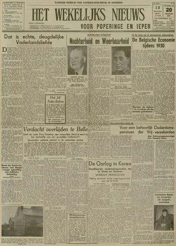 Het Wekelijks Nieuws (1946-1990) 1951-01-20