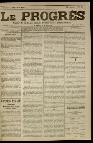 Le Progrès (1841-1914) 1905-02-26
