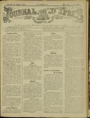 Journal d'Ypres (1874 - 1913) 1898-10-12